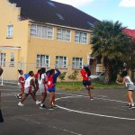 SPORT Girls Netball team in Action 2018