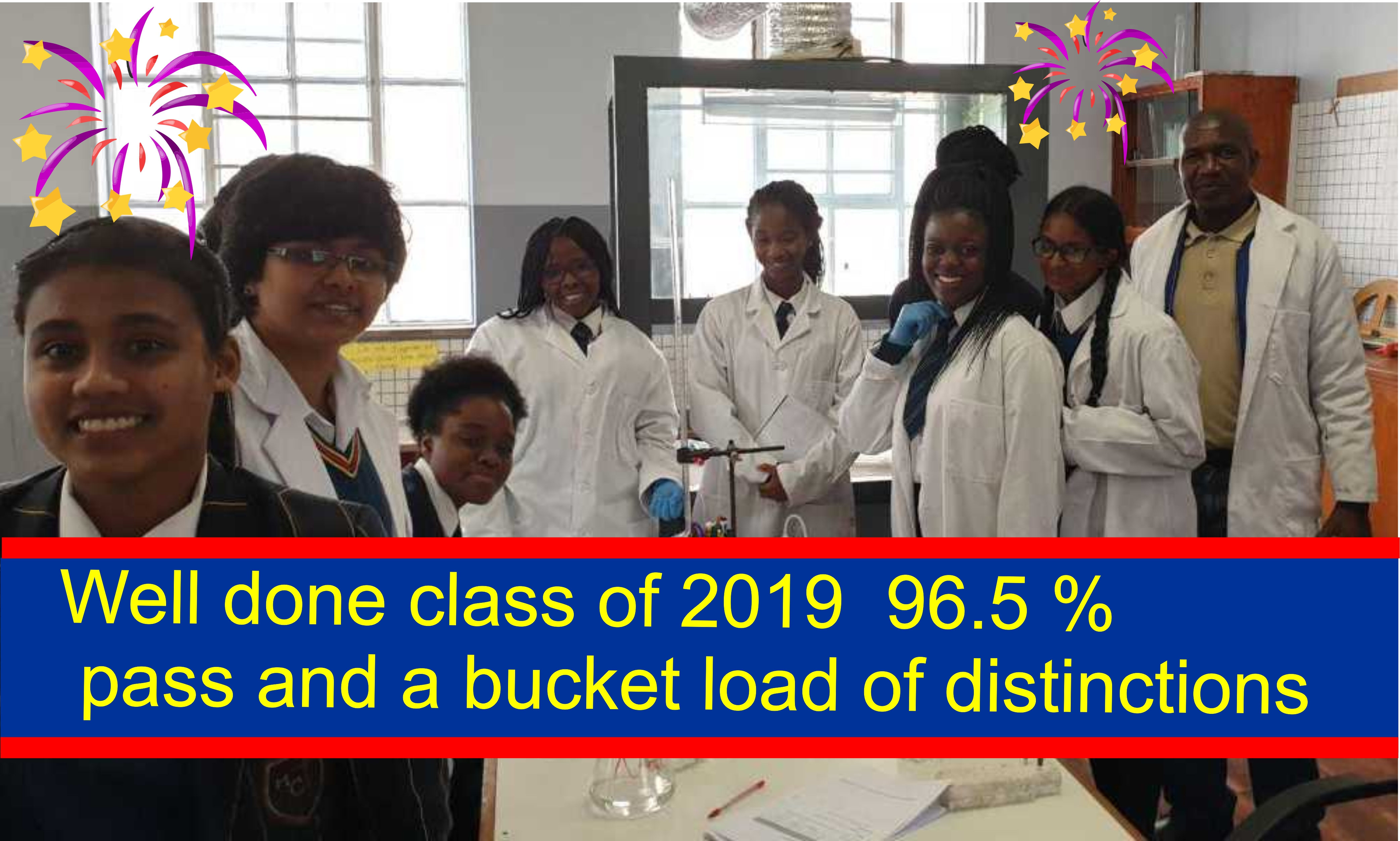 2019 Grade 12 well done
